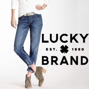 Lucky Brand Legend Sienna Cigarette Jeans, EUC, 26